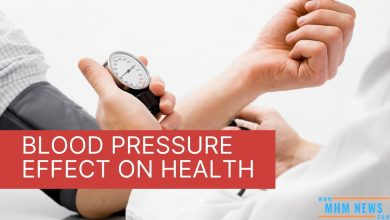 Blood pressure effect on health