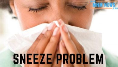 Get rid of morning sneeze